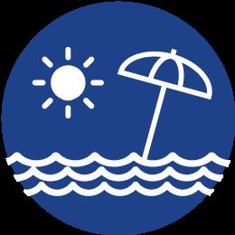 Clique para selecionar Praia